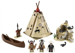 LEGO Lone Ranger new sets , camp, stagecoach