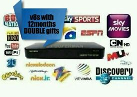 OpenBox v8s with 12 months DOUBLE gifts and guaranteed