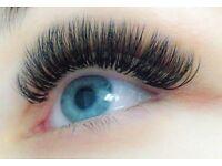Semi-Permanent Eyelash Extensions & 3D Russian Volume lashes individual eyelash extension