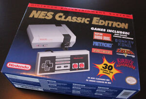 Classic NES Nintendo Brand New Sealed with Reciept