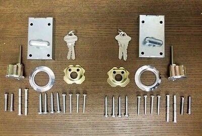 Keyed Lock-set (Garage Door Lock Set (Keyed Alike))