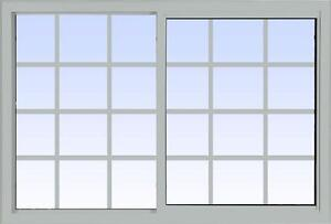 Lift Out Slider Windows - vinylbilt Single and Double Lift Out Slider Windows - We have a large selection of windows!!