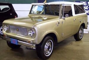 International Scout 80 or 800