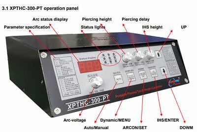 Xpthc-300-pt Plasma Torch Height Cnc Thc Arc Voltage 24v Supply Newest Model