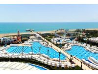 All Inclusive Turkey Holiday 5* AMAZING Hotel & Flights from Glasgow