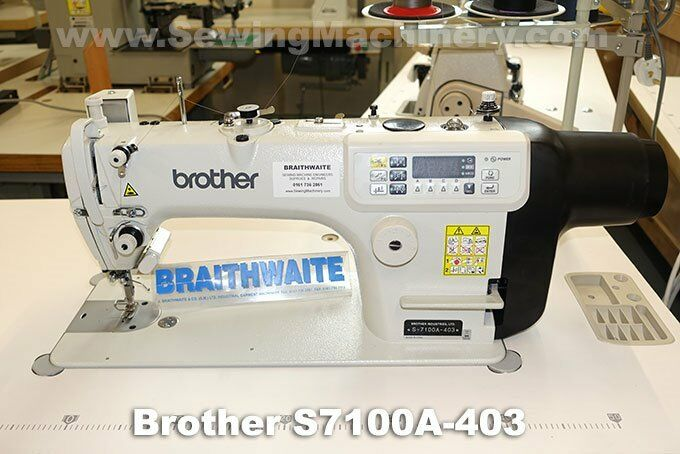 Brother S40A New Industrial Sewing Machine £40 In Salford New Braithwaite Industrial Sewing Machines
