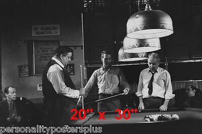 Hustler~Billiards~Mosconi~Gleason~Shooting Pool~Playing Pool~Photo~Poster 20x30