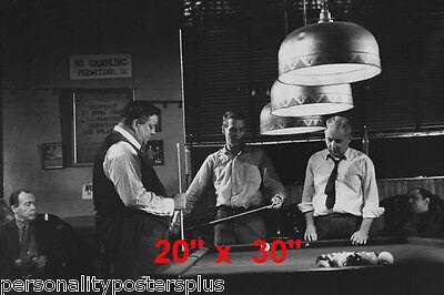 Hustler~Billiards~Mosconi~Gleason~Shooting Pool~Playing Pool~Photo~Poster 20x30
