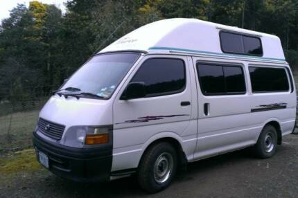 Toyota Hiace Campervan For Sale Lachlan Derwent Valley Preview