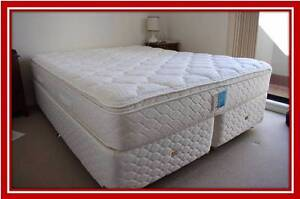 Moving sale Pillow top Queen  / king  mattress + Base Free Delive Sydney City Inner Sydney Preview