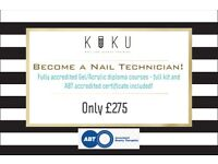 Nail Technician Course/Diploma/Training - Nails, Manicure, Gel, Acrylic