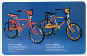 1978 Murray Crazy Cat bike in luscious lime green.