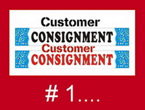 Customer Consignments: