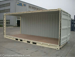 New 20' OPEN SIDE Containers Peterborough Peterborough Area image 3