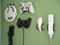 Bendeeze Controller wall mount / controller wall holder Wii Playstation xbox360 PS4 PS3 WiiU