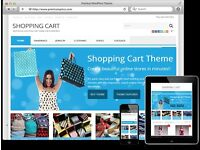 Ecommerce Website - Start Your Own Online Store!, Ready To Go Shopping Cart, Website Services. Cheap