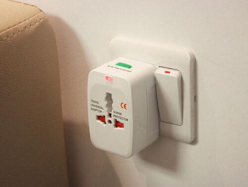 1X International Universal Travel Power Plug AC Adapter Converter UK US EU AU #E