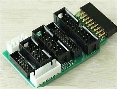 2pcs Mini 244 J-link Ulink2 Emulator V8 All-arm Jtag Adapter Converter For Ye