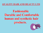 QUALITY HAIR AND BEAUTY LTD