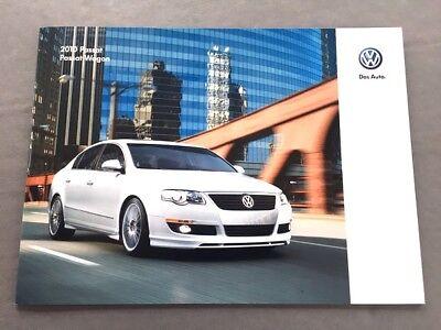 2010 VW Volkswagen Passat 24-page Original Dealer Sales Brochure (Dealer Vw Passat)
