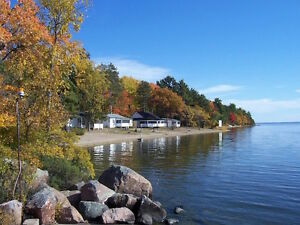 Beach Front Cottages on Lake Nipissing