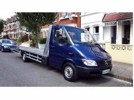 MERCEDES SPRINTER 160BHP RUNNS AND DRIVES LIKE DREAM!TOP CONDITION EXTRA LONG BODY WITH STRONG WINCH
