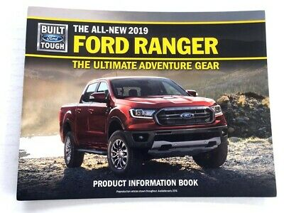 Brochure Catalog Guide - 2019 Ford Ranger 24-page Original Car Sales Brochure Catalog Guide