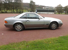 Classic Car, 1991 Mercedes Benz SL300 Auto Convertible with Matching Hardtop.