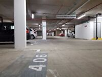 Secure modern car park. Generous spaces. Near to Tower Bridge, SE1. Outside congestion zone.
