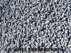 Crushed Rock - Base Gravel - River Rock - Sand - Crusher Dust