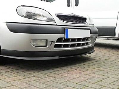 Citroen Saxo Front Bumper Cup Chin Spoiler Lip Sport Valance Wing Trim Splitter