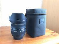 Sigma 24-70mm 2.8 DG HSM lens for Nikon for sale