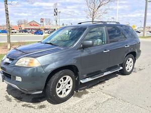 Cartified Acura MDX SUV with sunroof, leather and winter tire