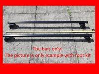 Thule SquareBar Evo 118 roof bars racks only