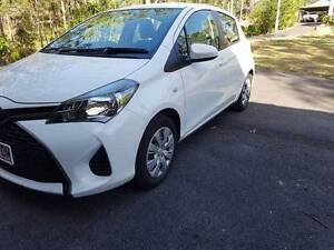 2015 Toyota Yaris Ascent - ONLY 5860 km Auto 5 door hatch 1.3L Cashmere Pine Rivers Area Preview