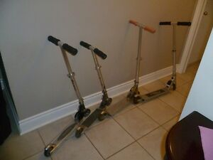 Razor and Rage Scooters