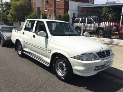 2005 Ssangyong Musso Ute(SNo791 1lk-7cq) Preston Darebin Area Preview