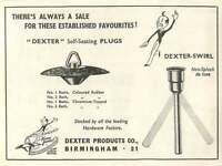 1953 Dexter Products Birmingham Plugs Ad -  - ebay.co.uk