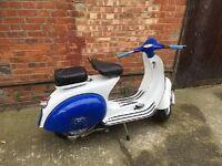 VESPA 125cc MODEL 150 WHITE/BLUE