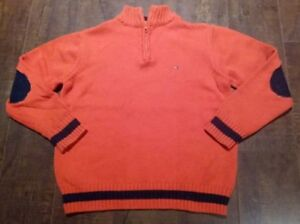 Tommy Hilfiger Boys Cotton Sweater Size 5