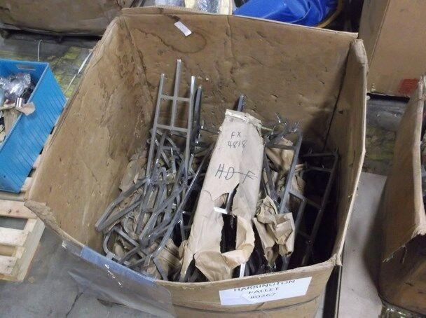 Pallet #0267 - Large Crate of Approx. 20 - 30 Vintage Harley Davidson Sissy Bars