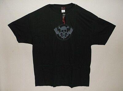 15 Rock Steady 'Skulls & Bolts' Black XXLarge T-Shirts-$22