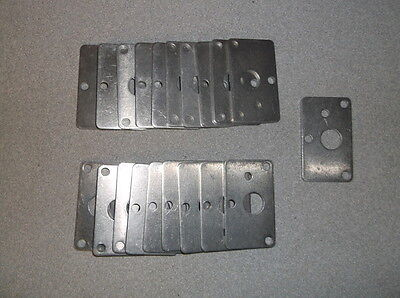Lot of 200 Rectangular Metal Plate Spacers for Custom Choppers - NEW!!!
