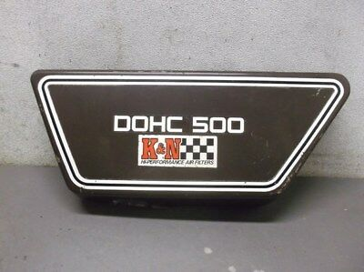 USED LEFT SIDE COVER FOR <em>YAMAHA</em> XS500 DOHC