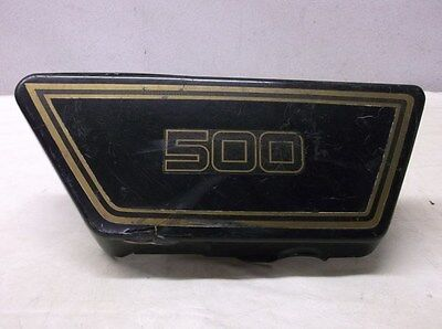 USED RIGHT SIDE COVER   1976 <em>YAMAHA</em> XS500 DOHC