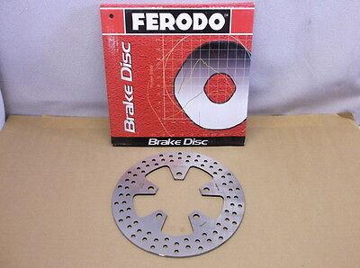 5 Ferodo Rear Rotor for 1989-2002 Kawasaki ZX7R, 1989-1995 ZXRR & 1994-1997 ZX9R