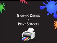 Large format Posters/ Business cards / Roll-Up Banners / Postcards /Digital print / Design services