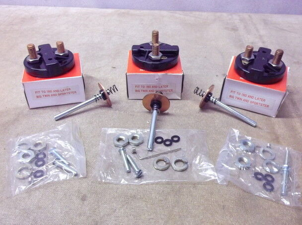 Lot of 30 Starter Solenoid Repair Kits for 1960s and 1970s Harleys