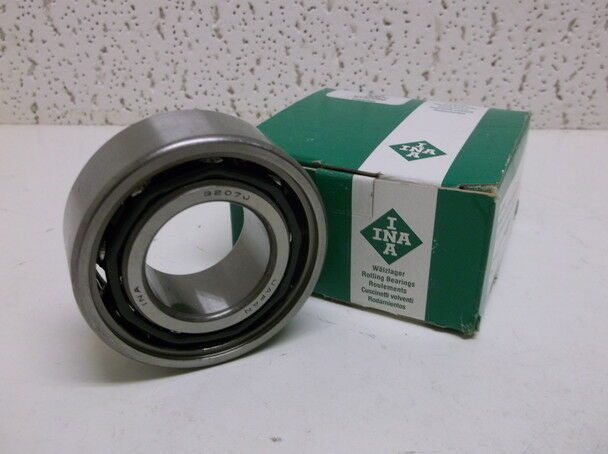 "Lot of 10 ""INA"" 3207J Angular Double Row Bearing (72mm x 35mm x 27mm) - NEW!"