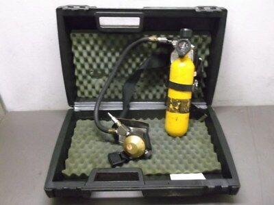 Msa Hip-air Breathing Apparatus Tank Regulator And Harness